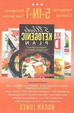 Ketogenic Cooking : 5-in-1 Ketogenic Diet Books, Paperback b