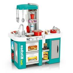 Kids Pretend Play Toys Kitchen Chef Toy For Girls Role Playi