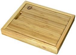 KitchenAdvance Bamboo Cutting Board with Basin