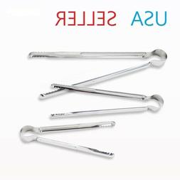 Korean BBQ Stainless Steel Tongs Light Weight BBQ Seafood Br