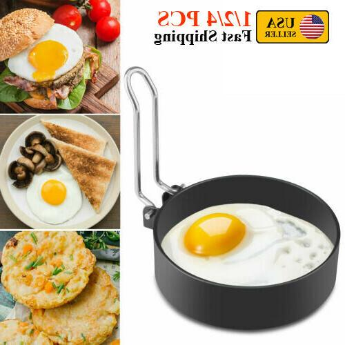 1 2 4pcs stainless steel fried egg