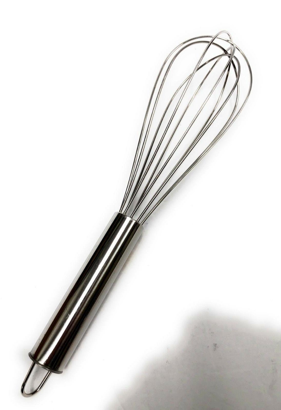 "12"" Kitchen Hand Whisk Beater Mixer Blend Tool"