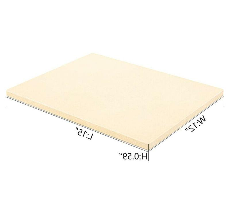 """Heavy Duty Stone Grilling for Oven Grill BBQ 15""""x12"""""""