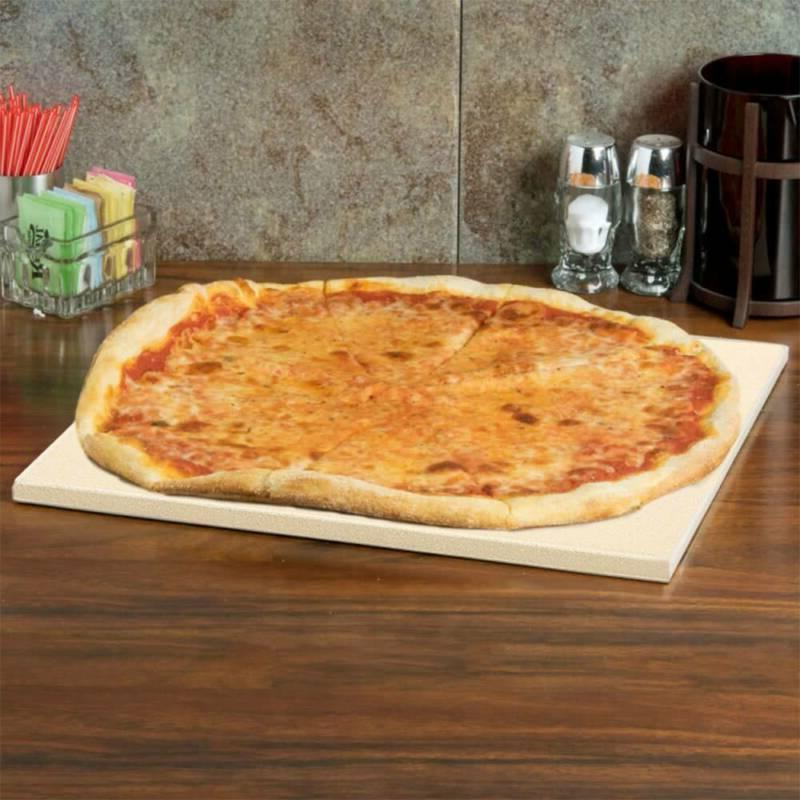 """Heavy Duty Pizza Stone Grilling for Oven 15""""x12"""""""
