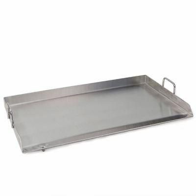 32 x 17 stainless steel comal flat