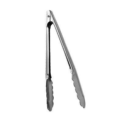 7 inch stainless steel utility tong heavy