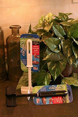 ChopStir Original Ground Chopper, Juice Stirrer, Heat-Resistant in