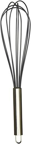 Cuisinart Silicone Whisk, 12-Inch, Black