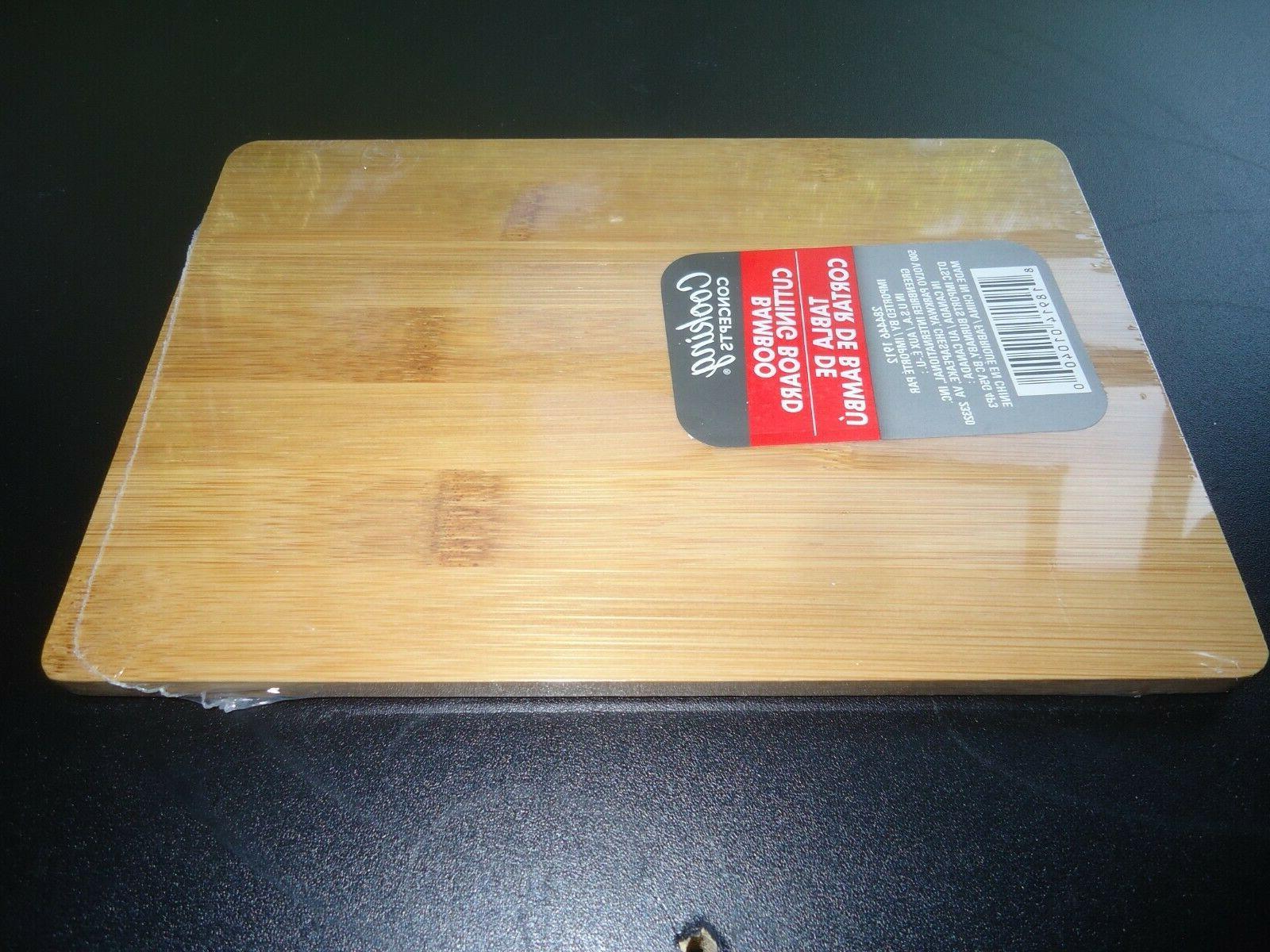 bamboo cutting board size 8 1 2