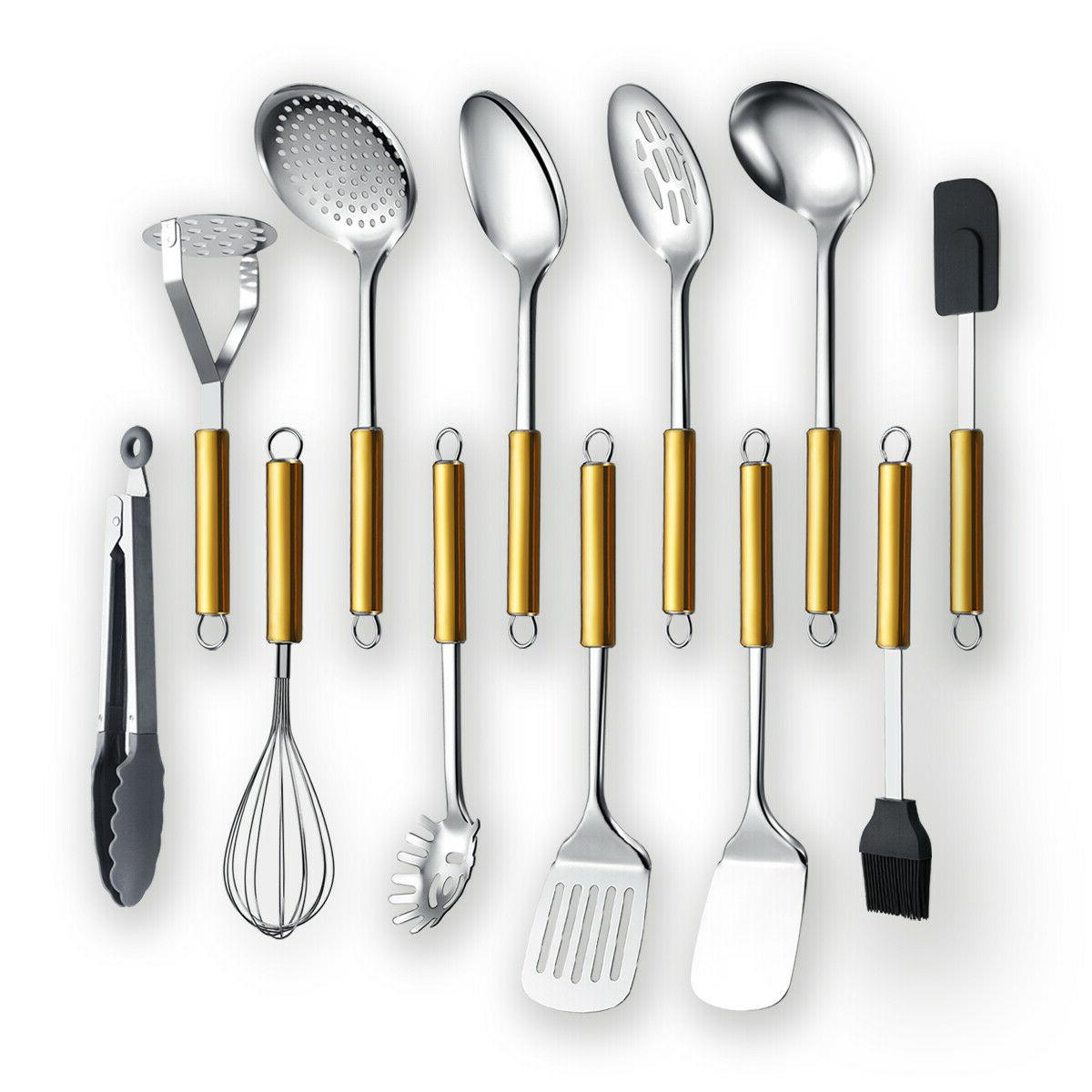 berglander gold stainless steel cooking 12 pieces