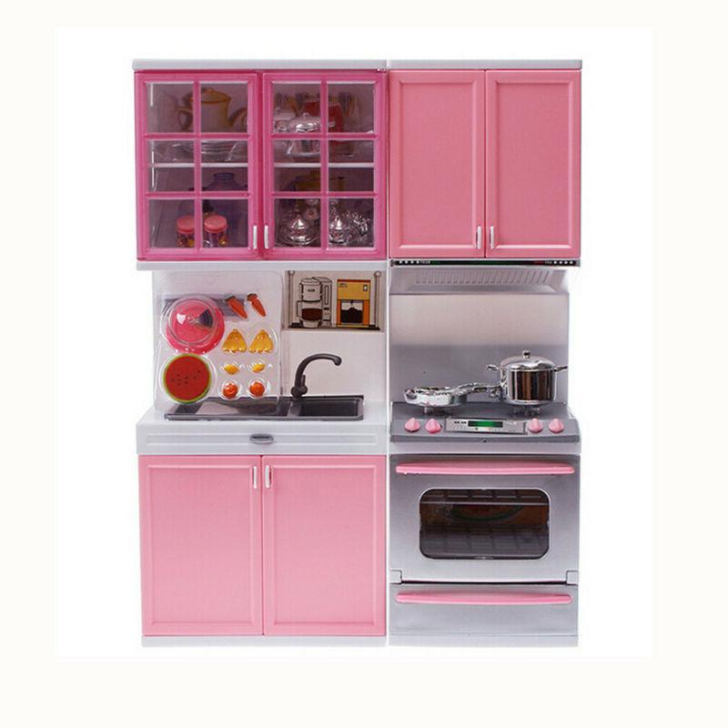 Children Kids Kitchen Cooking Set Toddler Playset