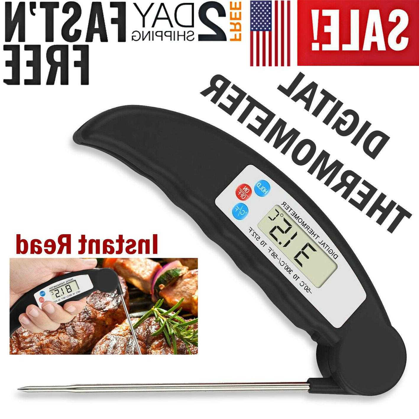 Digital Food Thermometer Probe Cooking Meat Temperature BBQ