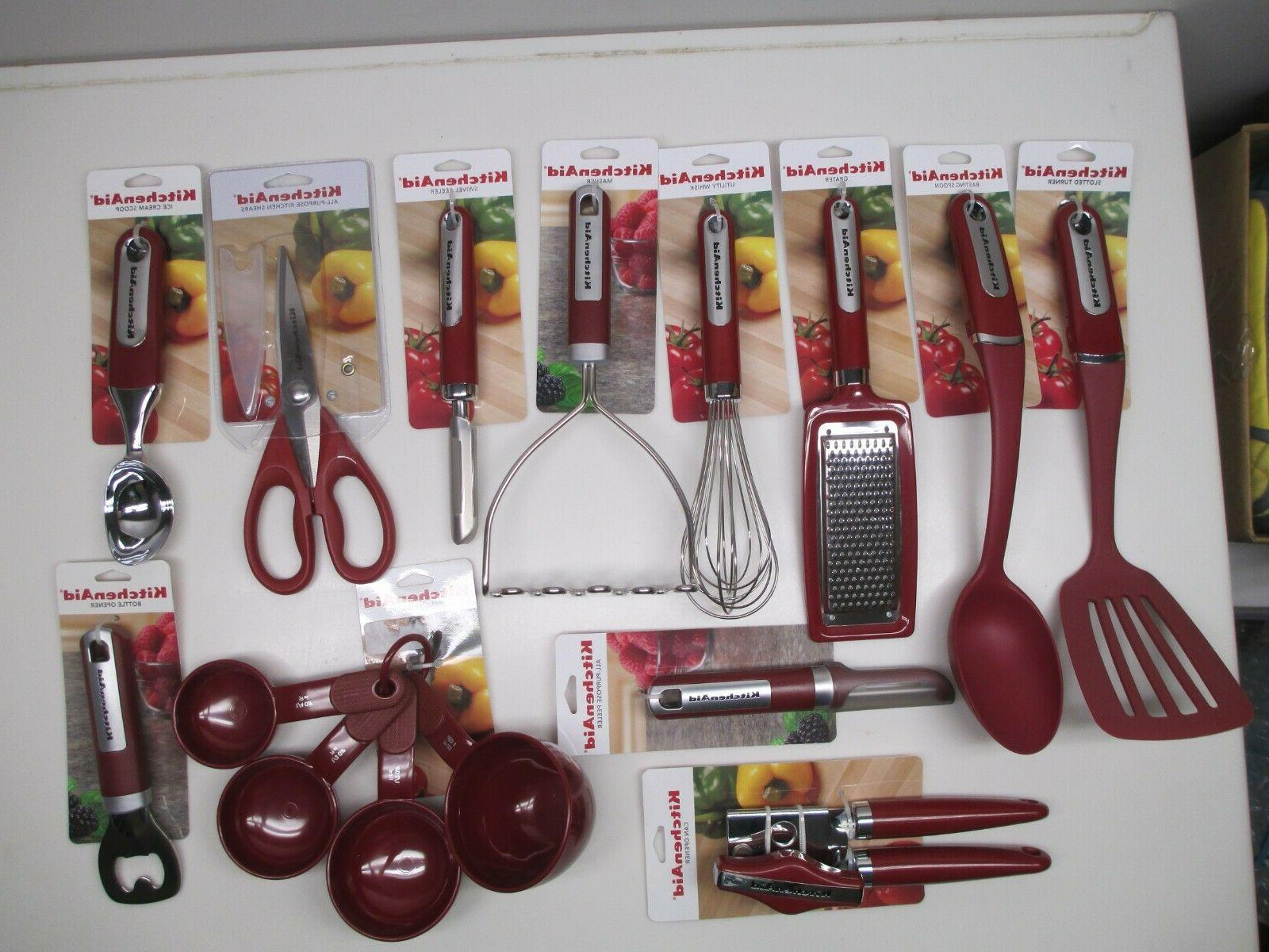 empire red cooking utensils choose style from