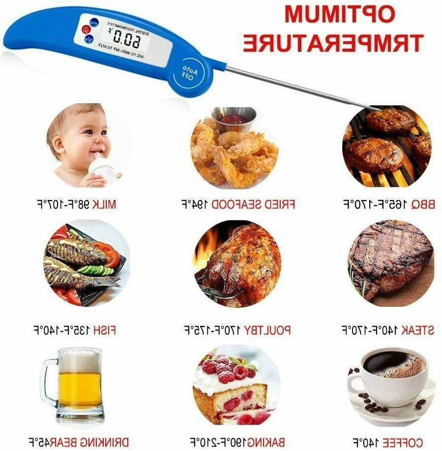 Food Thermometer Digital LCD Milk Tea