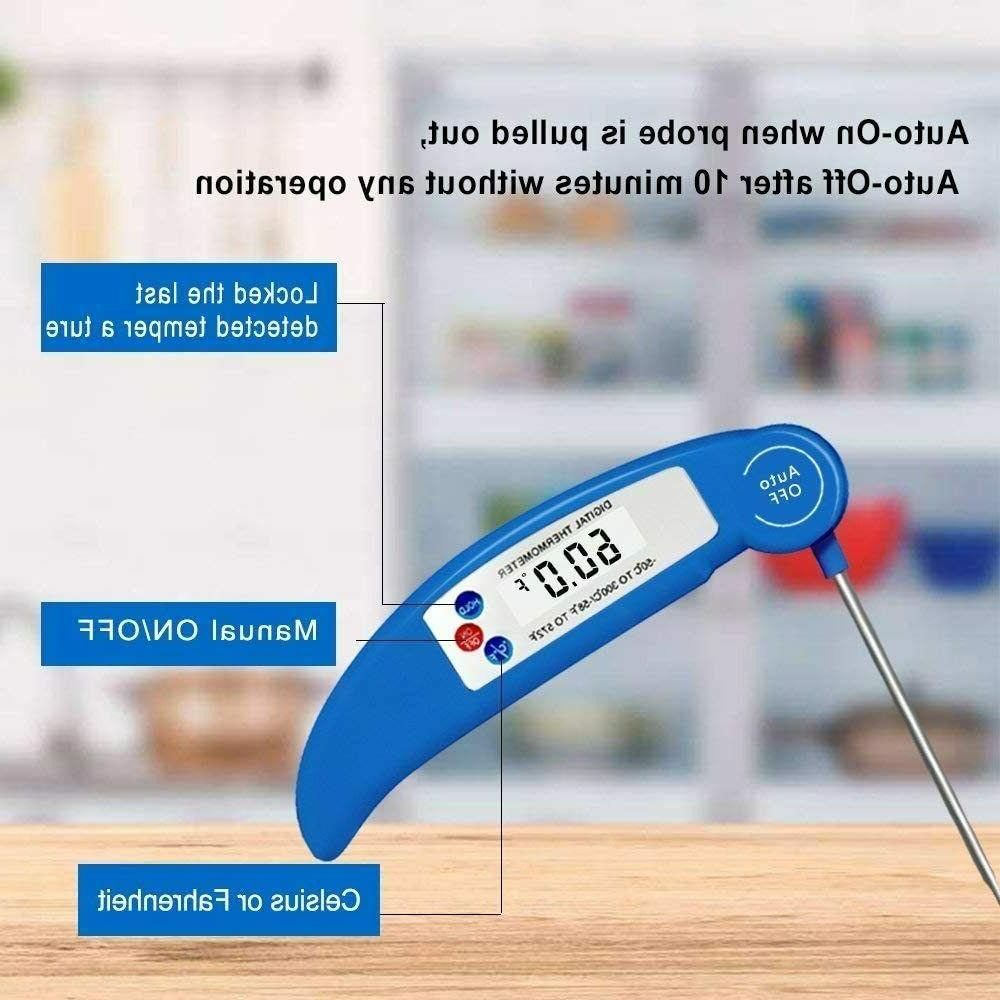 Food Cooking Thermometer with Digital Milk Tea Bathing