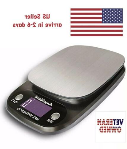 food scale for cooking baking diets 22lbs
