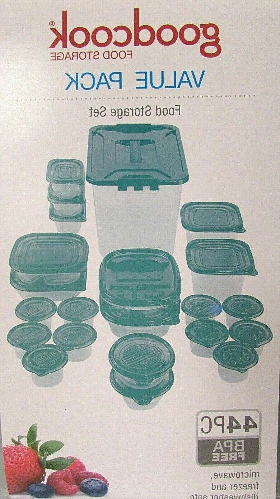 food storage plastic container set bpa free