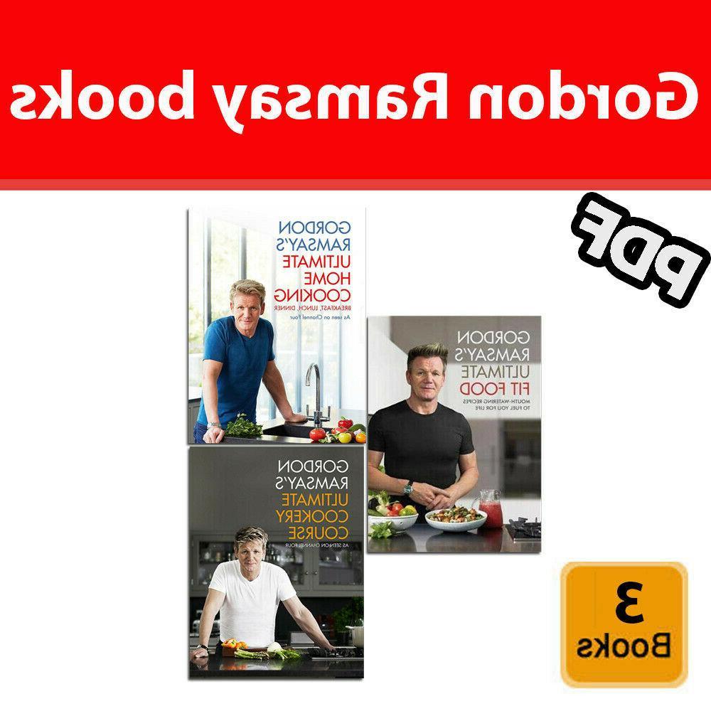 gordon ramsay 3 books set ultimate fit