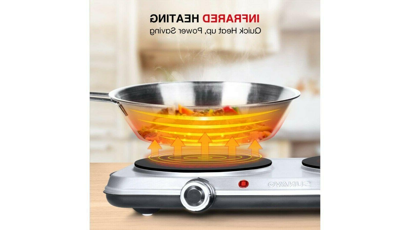 Hot Plates 1800W with Level