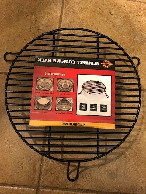 indirect cooking rack superdome xl 16 free