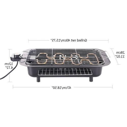 Indoor Grill Griddle Barbecue Cooking