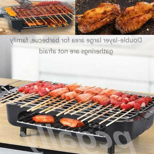 indoor bbq portable electric grill griddle non