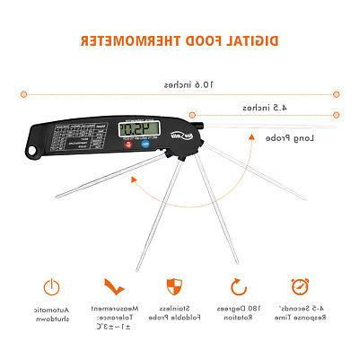 Instant Read Digital Electronic Kitchen BBQ Food Thermometer