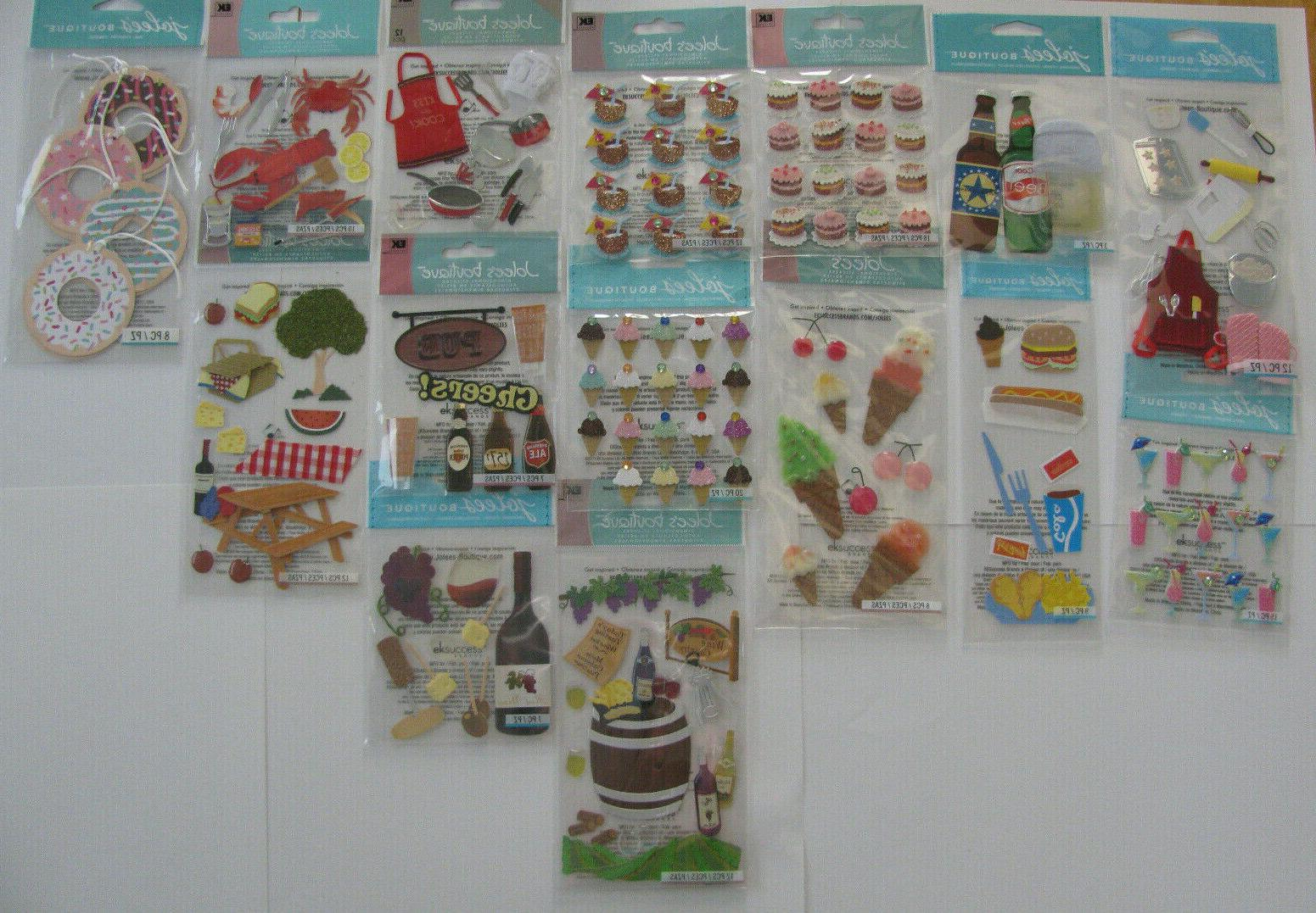jolee s boutique stickers baking cooking food