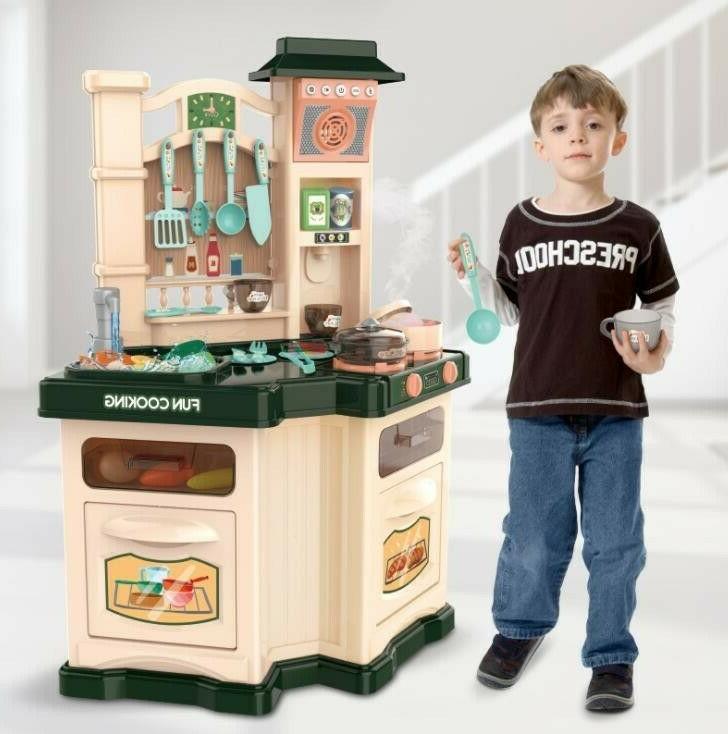 kitchen play set for kids pretend playset