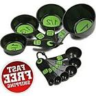 Light Compact Measuring Tools Cups Spoons Set Cooking Cake B