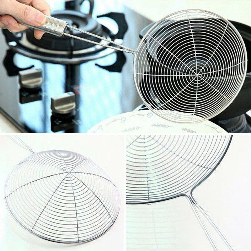 Mesh Spider Cooking Stainless Steel Wired