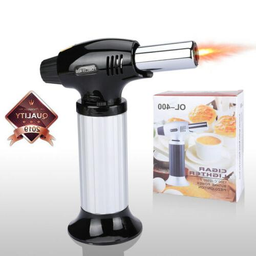 cooking torch cremebrulee culinary food blow kitchen