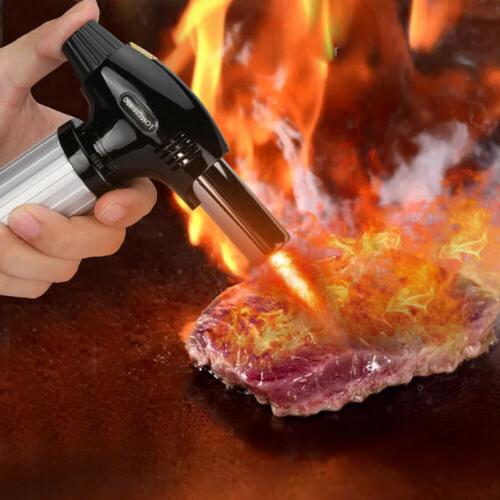 Cooking CremeBrulee Culinary Food Kitchen Flame Lighter