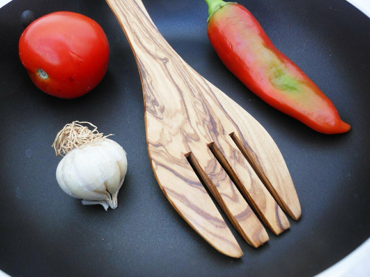 Olive Spoon Cooking Serving Utensil Spoon