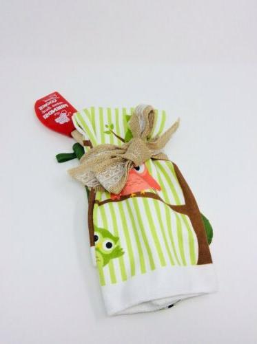 oven mit towel and spatula gift set