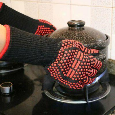 Pair BBQ Glove Silicone