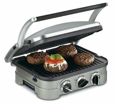 panini counter top electric grill sandwich griddle