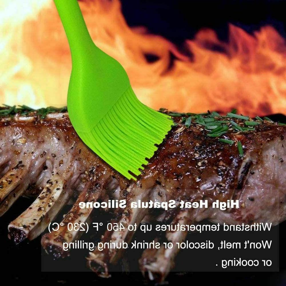 Pastry for Barbecue Resistant Silicone