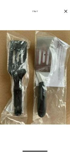 Pampered Chef SET OF 2 Mini Serving Spatulas Stainless Steel