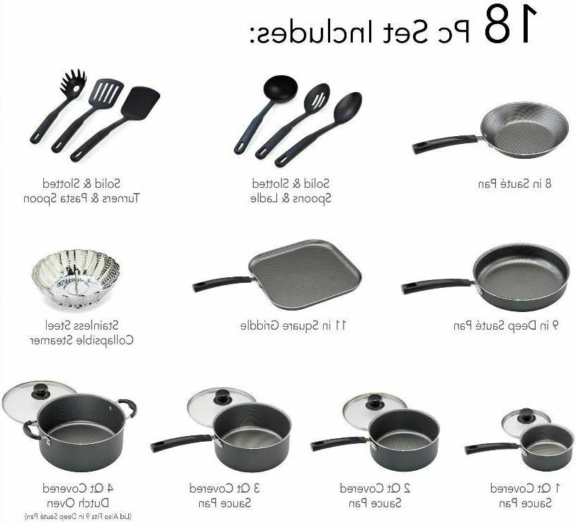 18-PIECE SET And Cooking Professional