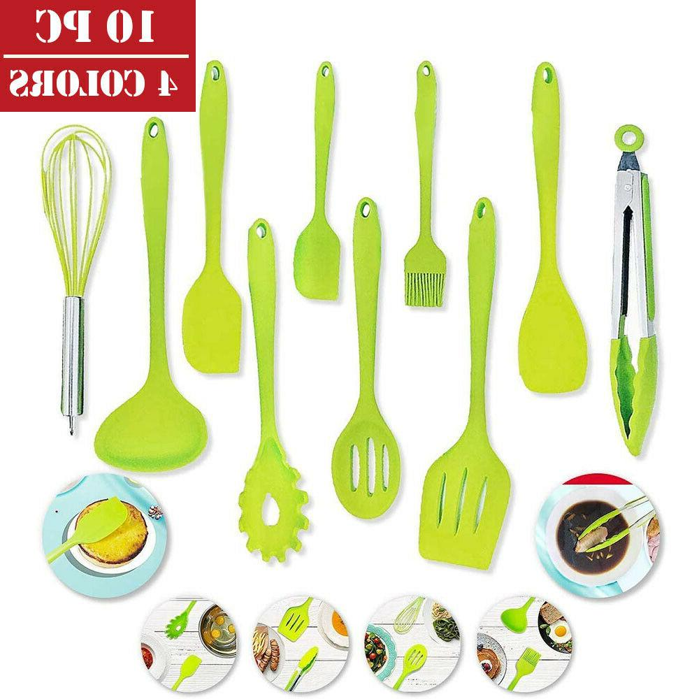 Silicone Cooking Utensil of Non-Stick Kitchen Tools US