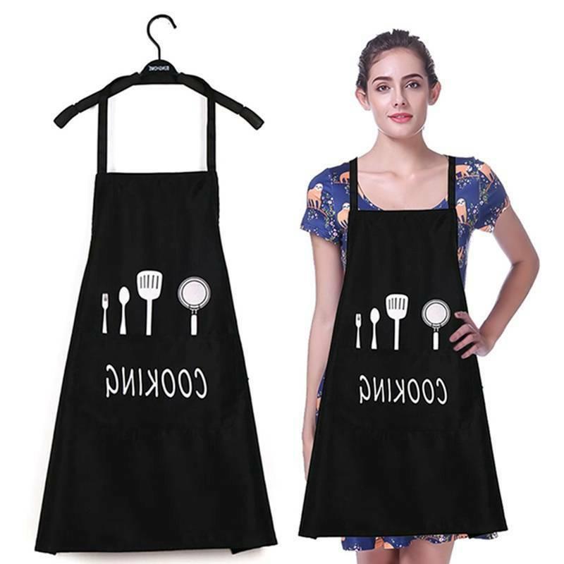 waterproof and oil proof adjustable apron men