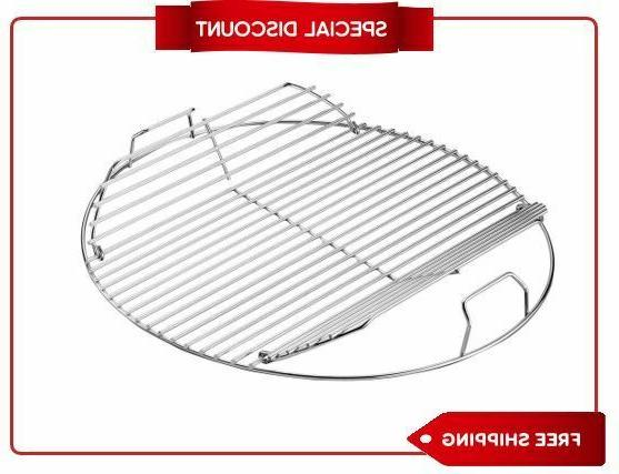 weber hinged replacement cooking grate 22 1