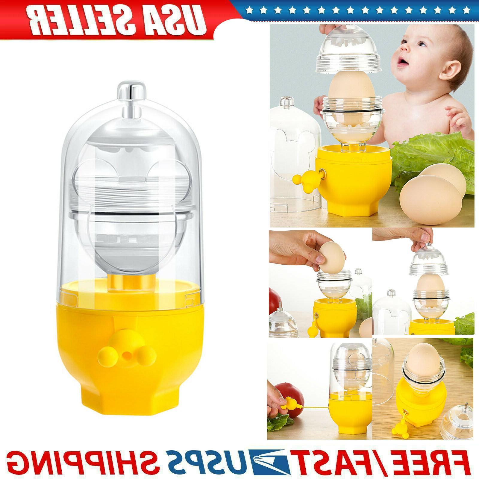 yolk mixer puller easy use golden eggs