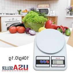 LCD Digital Kitchen Cooking Scale Electronic Weight Diet Foo