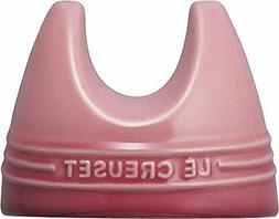Le Creuset lid stand pan lid placed rose quartz 910429-11-17