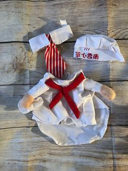 Little chef cook costume for small kitten/ puppy
