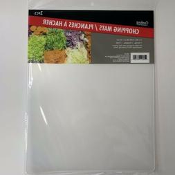 Lot 2 Flexible Chopping Mats Kitchen Vegetable Plastic Cutti