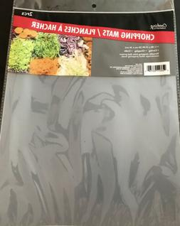 Lot 4 Flexible Chopping Mats Kitchen Vegetable Plastic Cutti