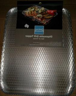 Cooking Elements Disposable Grill Topper Large Rectangle 16